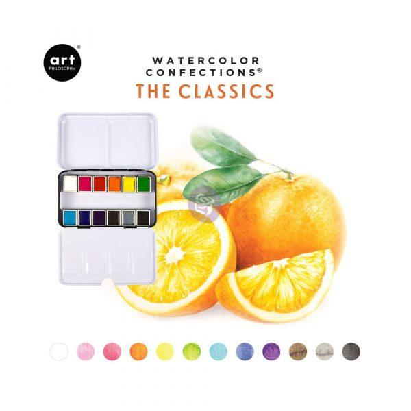 Watercolor Confections®- The Classics