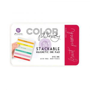 Color Philosophy Stackable magnetic ink pad- Fruit Punch