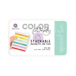 Color Philosophy Stackable magnetic ink pad- Mermaid Hair