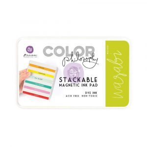 Color Philosophy Stackable magnetic ink pad- Wasabi