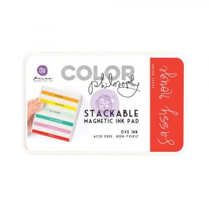 Color Philosophy Stackable magnetic ink pad- Sassy Rouge