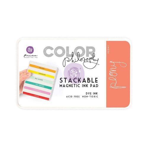 Color Philosophy Stackable magnetic ink pad- Peony