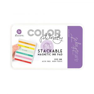 Color Philosophy Stackable magnetic ink pad- Amethyst