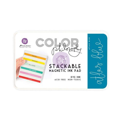 Color Philosophy Stackable magnetic ink pad- Atlas Blue