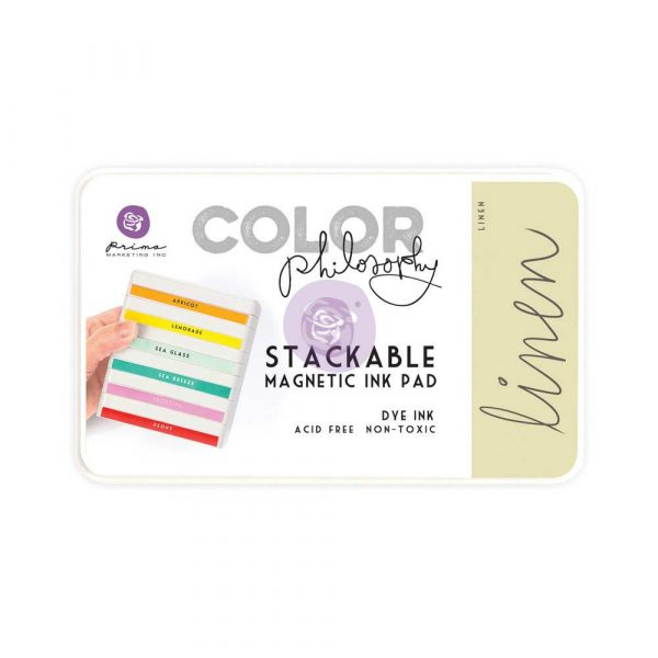 Color Philosophy Stackable magnetic ink pad- Linen
