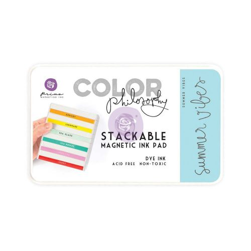 Color Philosophy Stackable magnetic ink pad- Summer Vibes