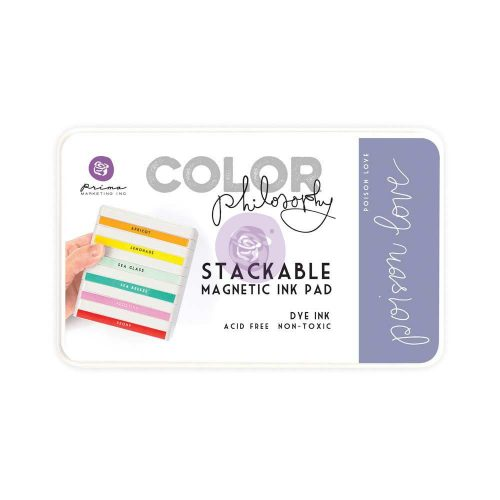Color Philosophy Stackable magnetic ink pad- Poison Love