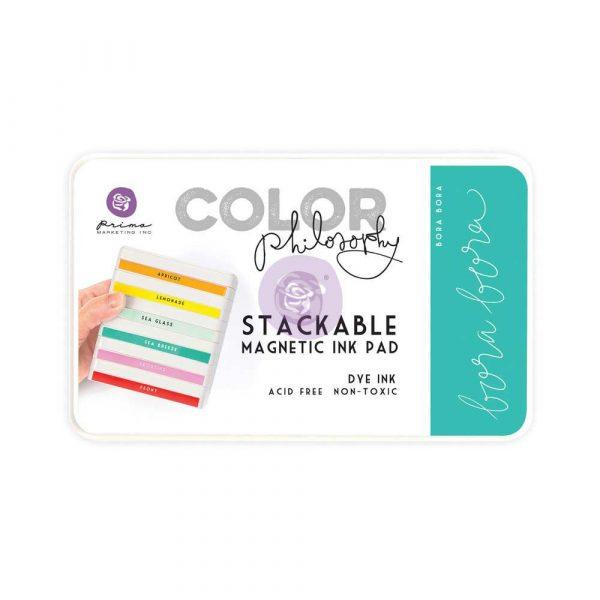 Color Philosophy Stackable magnetic ink pad Bora Bora