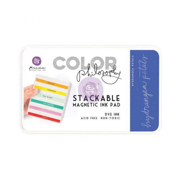 Color Philosophy Stackable magnetic ink pad- Hydrangea Petals