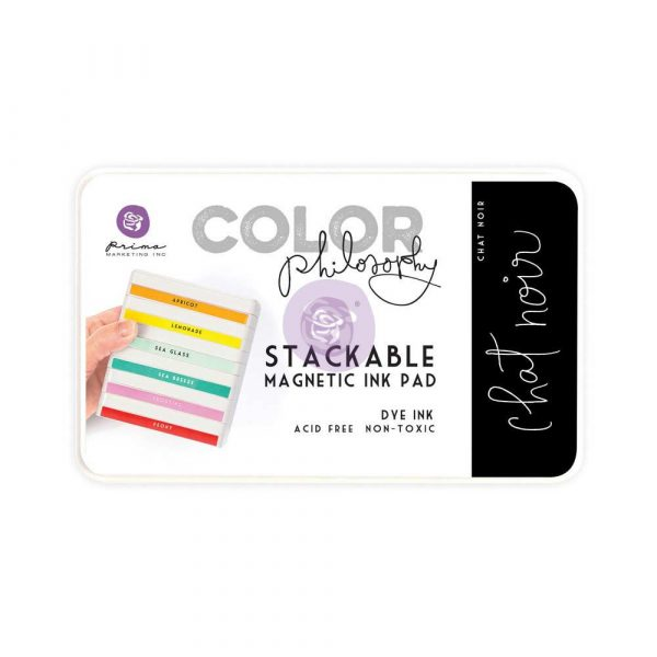 Color Philosophy Stackable magnetic ink pad- Chat Noir