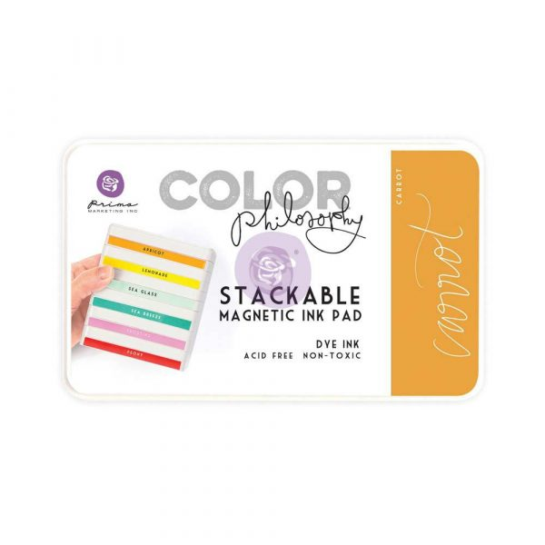 Color Philosophy Stackable magnetic ink pad- Carrot