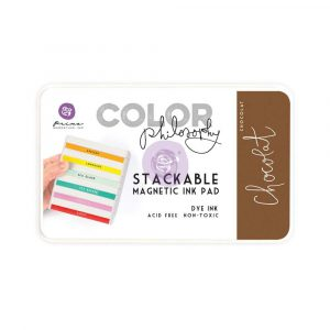 Color Philosophy Stackable magnetic ink pad- Chocolat