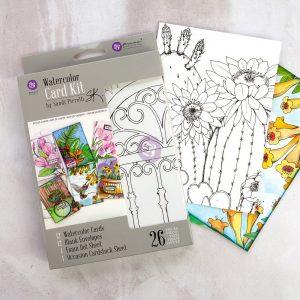 SP Watercolor Card Kit