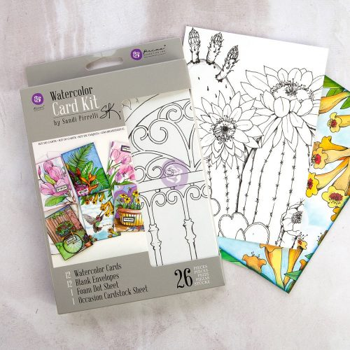 SP Watercolor Card Kit