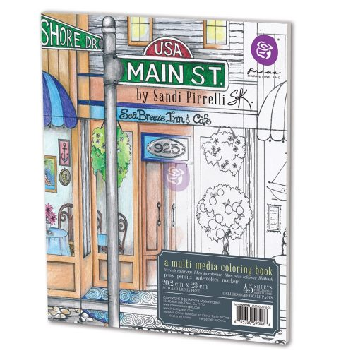 SP Coloring Book - Main Street