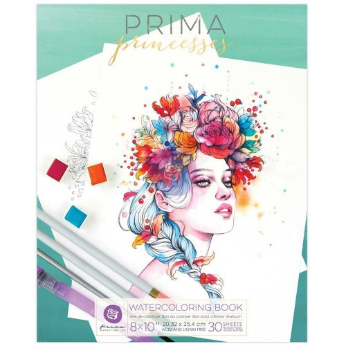 Prima Princesses Coloring Book