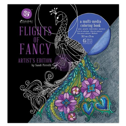 SP Coloring Book - Flights Of Fancy