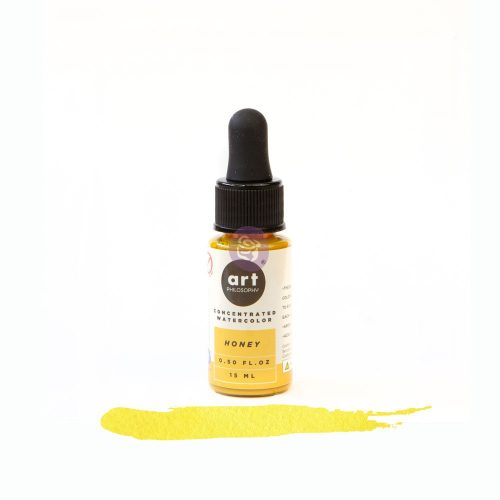 Art Philosophy Concentrated Watercolor 0.5 fl.oz - Honey