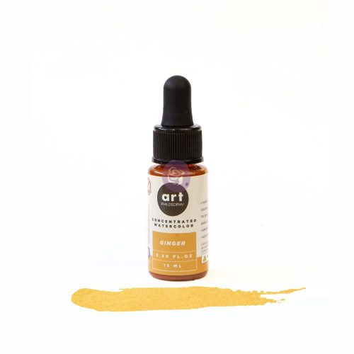 Art Philosophy Concentrated Watercolor 0.5 fl.oz - Ginger