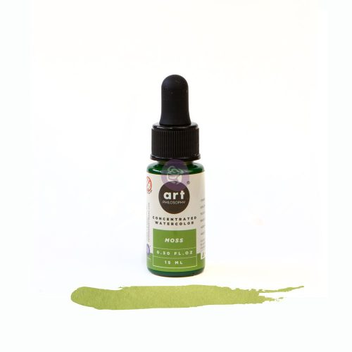 Art Philosophy Concentrated Watercolor 0.5 fl.oz - Moss