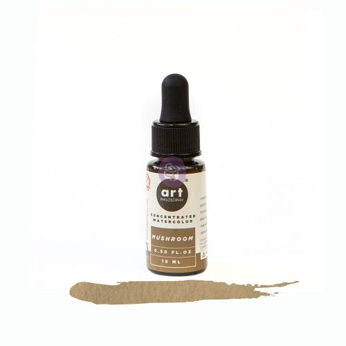 Art Philosophy Concentrated Watercolor 0.5 fl.oz- Mushroom