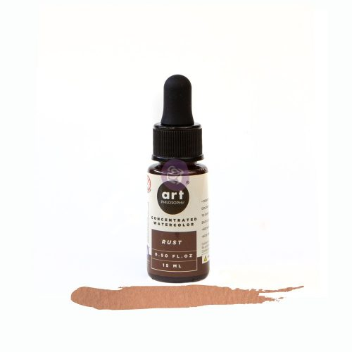 Art Philosophy Concentrated Watercolor 0.5 fl.oz - Rust