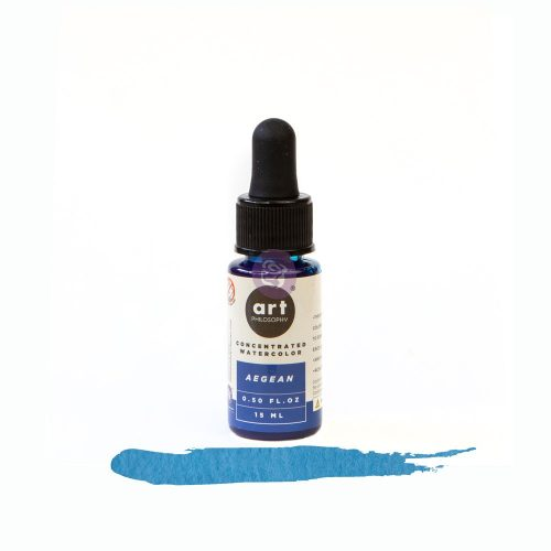 Art Philosophy Concentrated Watercolor 0.5 fl.oz - Aegean