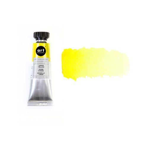 Art Philosophy® Artist Grade Watercolor Tubes - Lemon Yellow